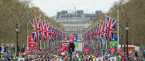 Entertee proud to be part of another London Marathon