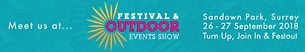 We're Attending The Festival and Outdoor Events Show (Festout)